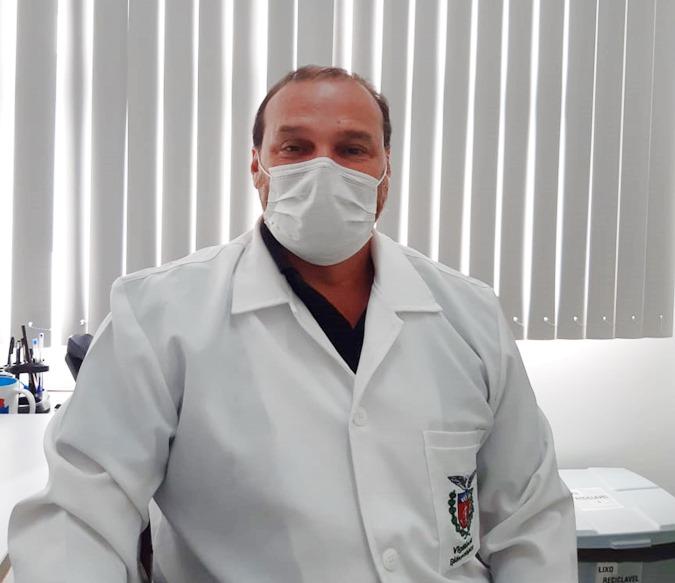 """O objetivo é preservar os doadores e candidatos à doação, por isso elaboramos um conjunto de normativas e protocolos sanitários, bem como foi restringido o número de pessoas na unidade"""", afirma  Ricardo José Nascimento Moura, chefe da UCT de Paranaguá do Hemepar"""