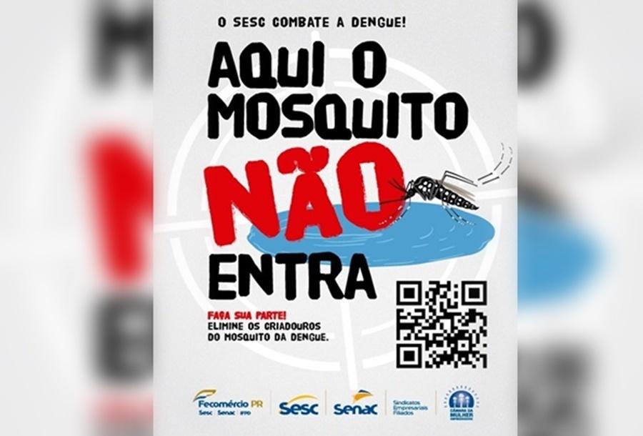 SESC convida população para uma caçada contra o mosquito da dengue