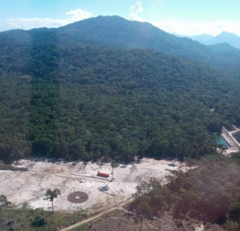 Polícia Ambiental identifica 13 pontos com corte de vegetação nativa em Guaratuba