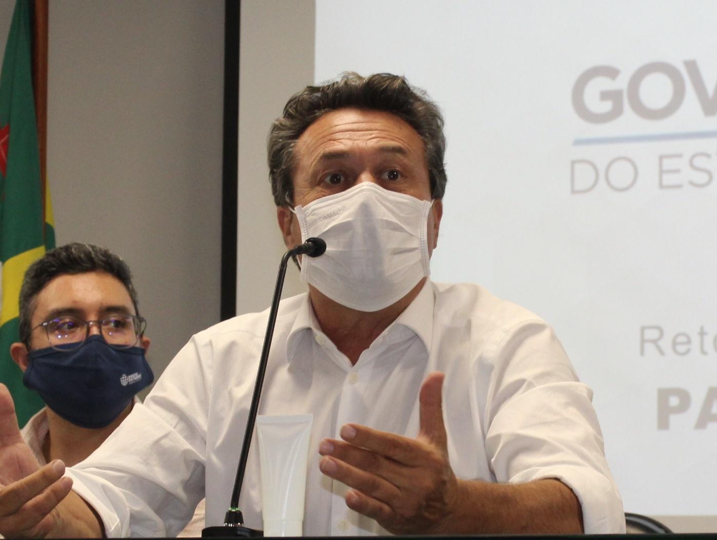 secretário de Desenvolvimento Sustentável, Marcio Nunes