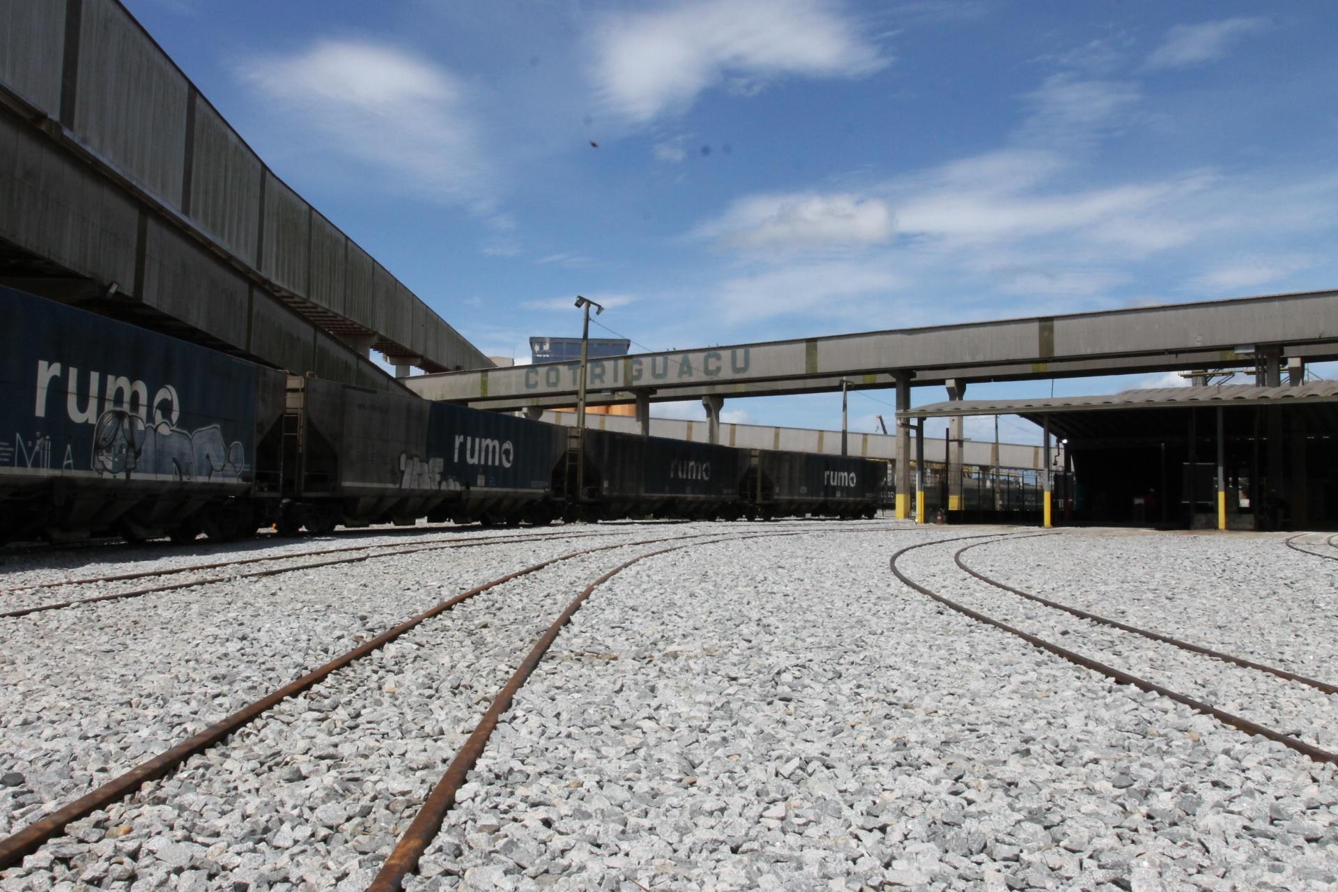 Desvio ferroviário beneficiará movimentação e logística da Cotriguaçu em Paranaguá