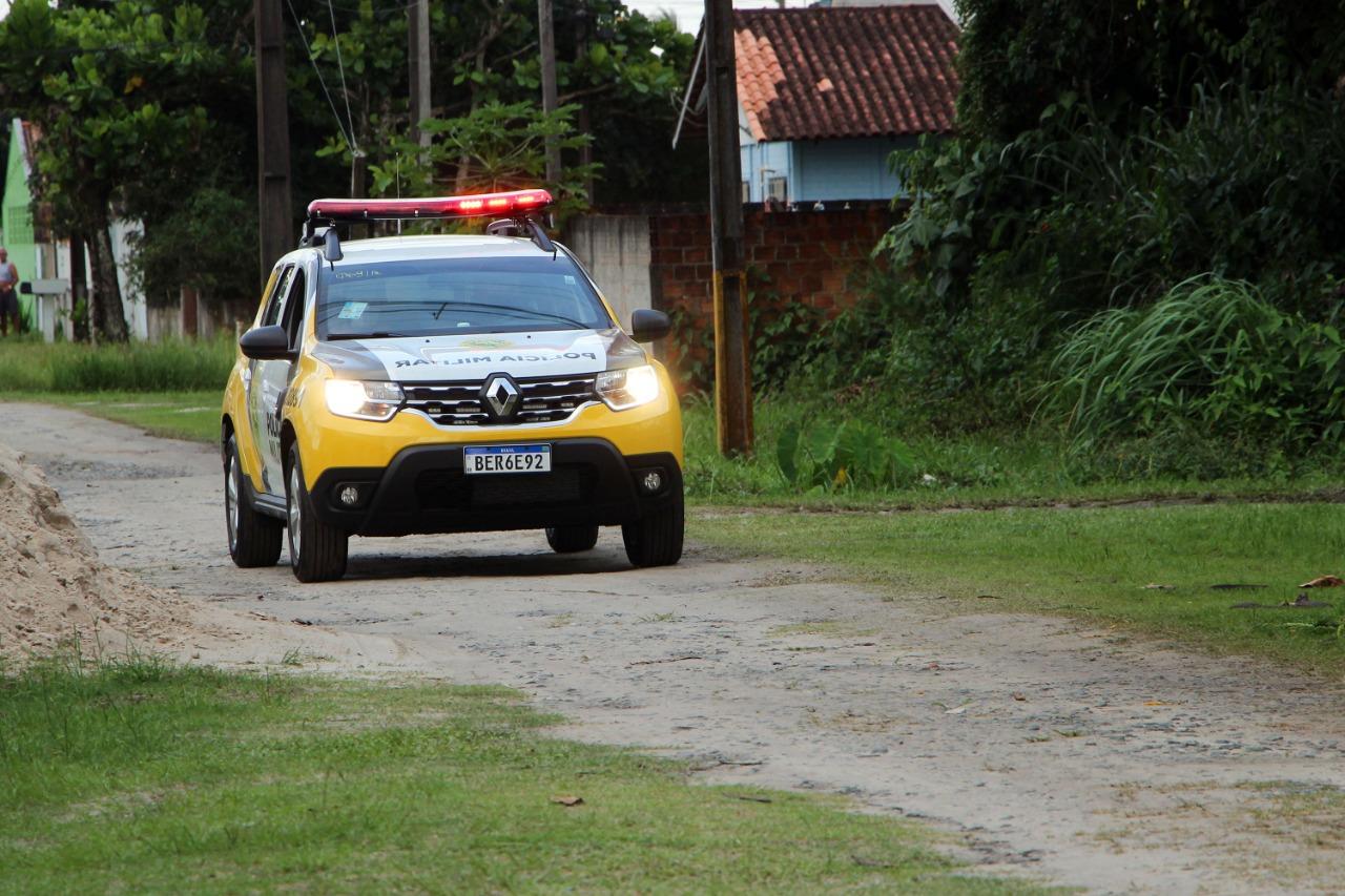 PM prende homem suspeito de estuprar menina de 7 anos em Pontal do Paraná
