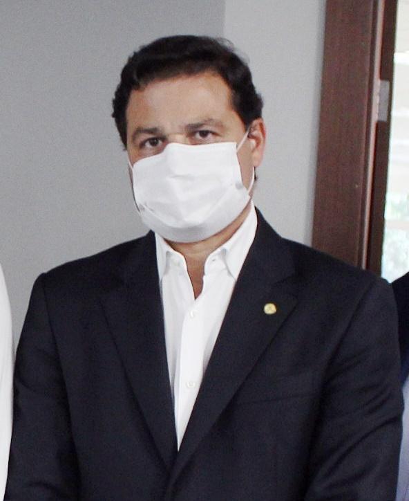 secretário de Estado da Infraestrutura e Logística, Sandro Alex