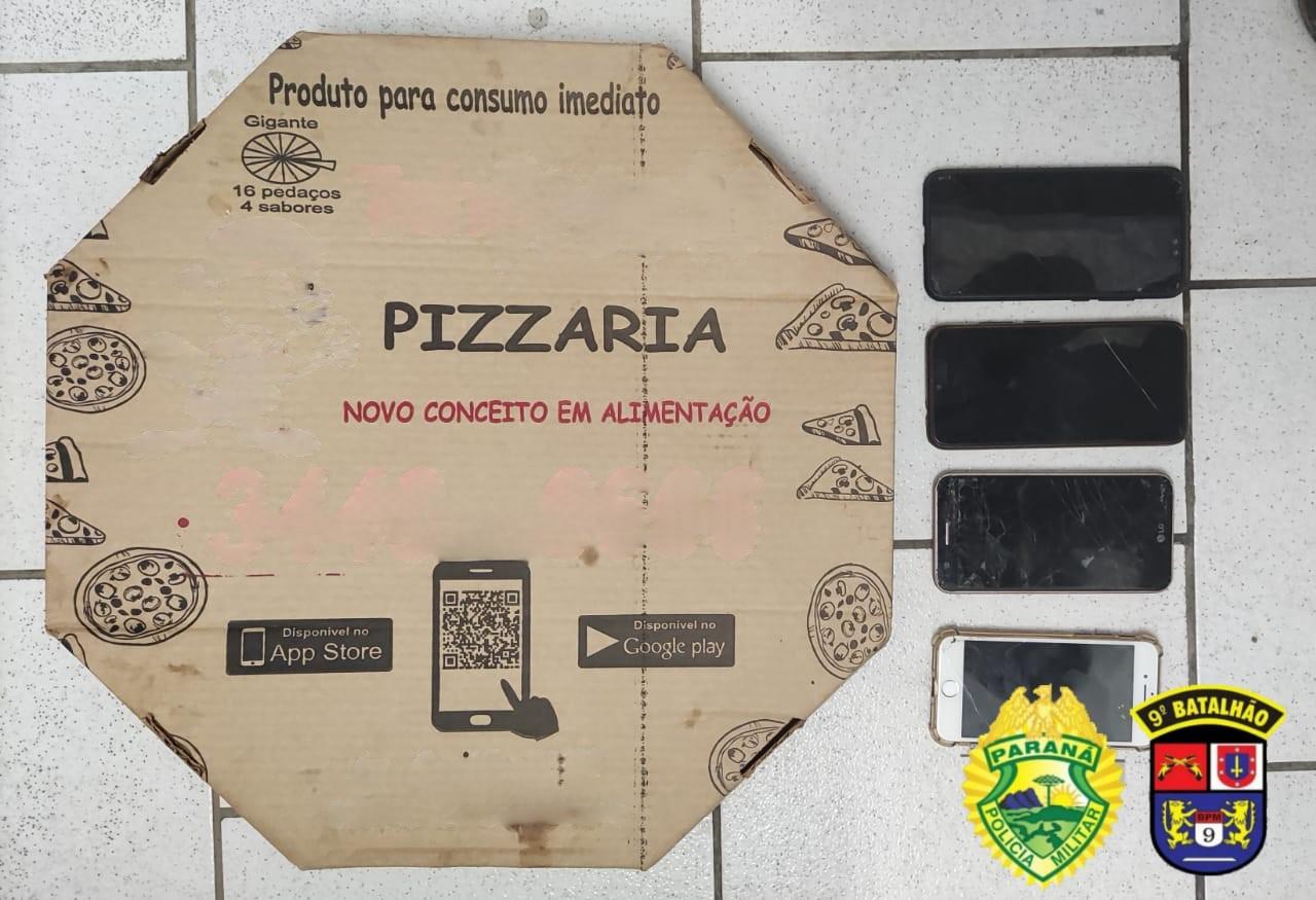 Trio acusado de roubar entregador de pizzas é preso em Guaratuba