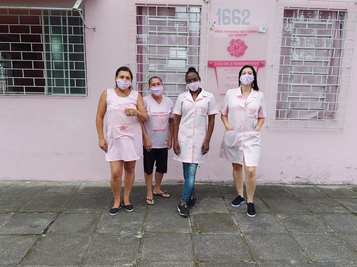 Rede Feminina de Combate ao Câncer de Paranaguá necessita de donativos