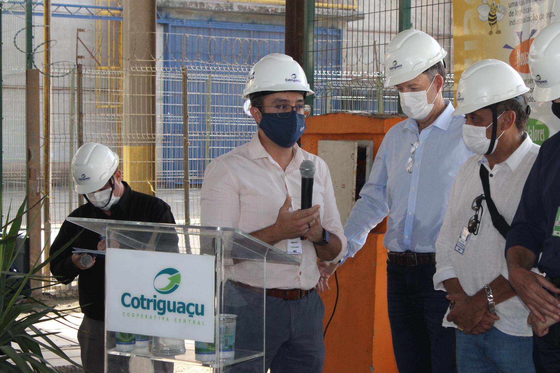 Diretor-presidente da Portos do Paraná, Luiz Fernando Garcia da Silva, destaca que investimento é também sinal de confiança da Cotriguaçu na gestão da Portos do Paraná e no Governo do Estado