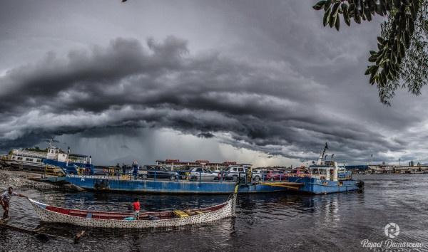 Simepar alerta para risco de tempestade no litoral do Paraná na quinta-feira, 4