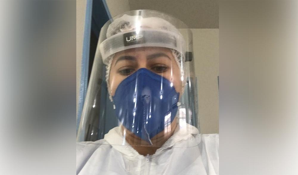 Enfermeira relata dia a dia na linha de frente do combate à Covid-19