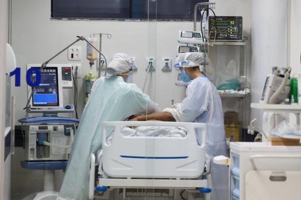 Ocupação de Leitos de UTI segue alta no Hospital Regional do Litoral
