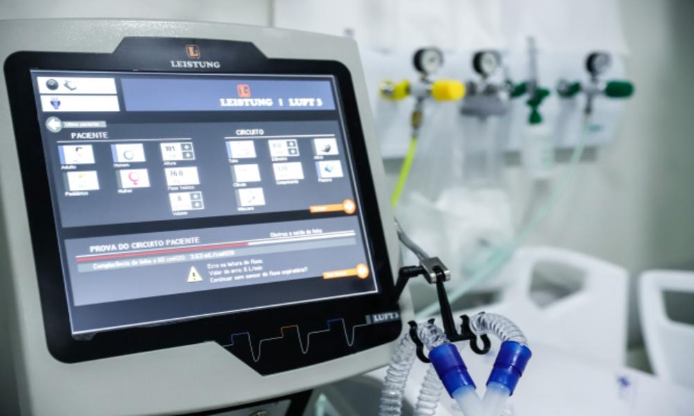 Com lotação máxima, HRL está com 54 respiradores em uso para tratamento da Covid-19