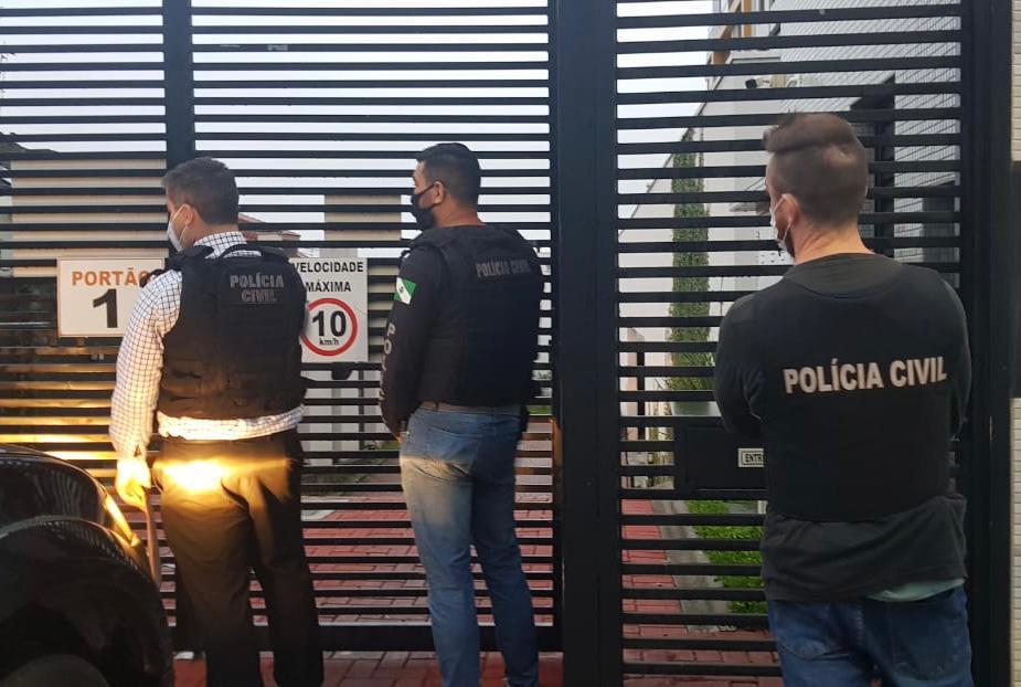 PCPR prende suspeitos de golpe bilionário em empresas estrangeiras
