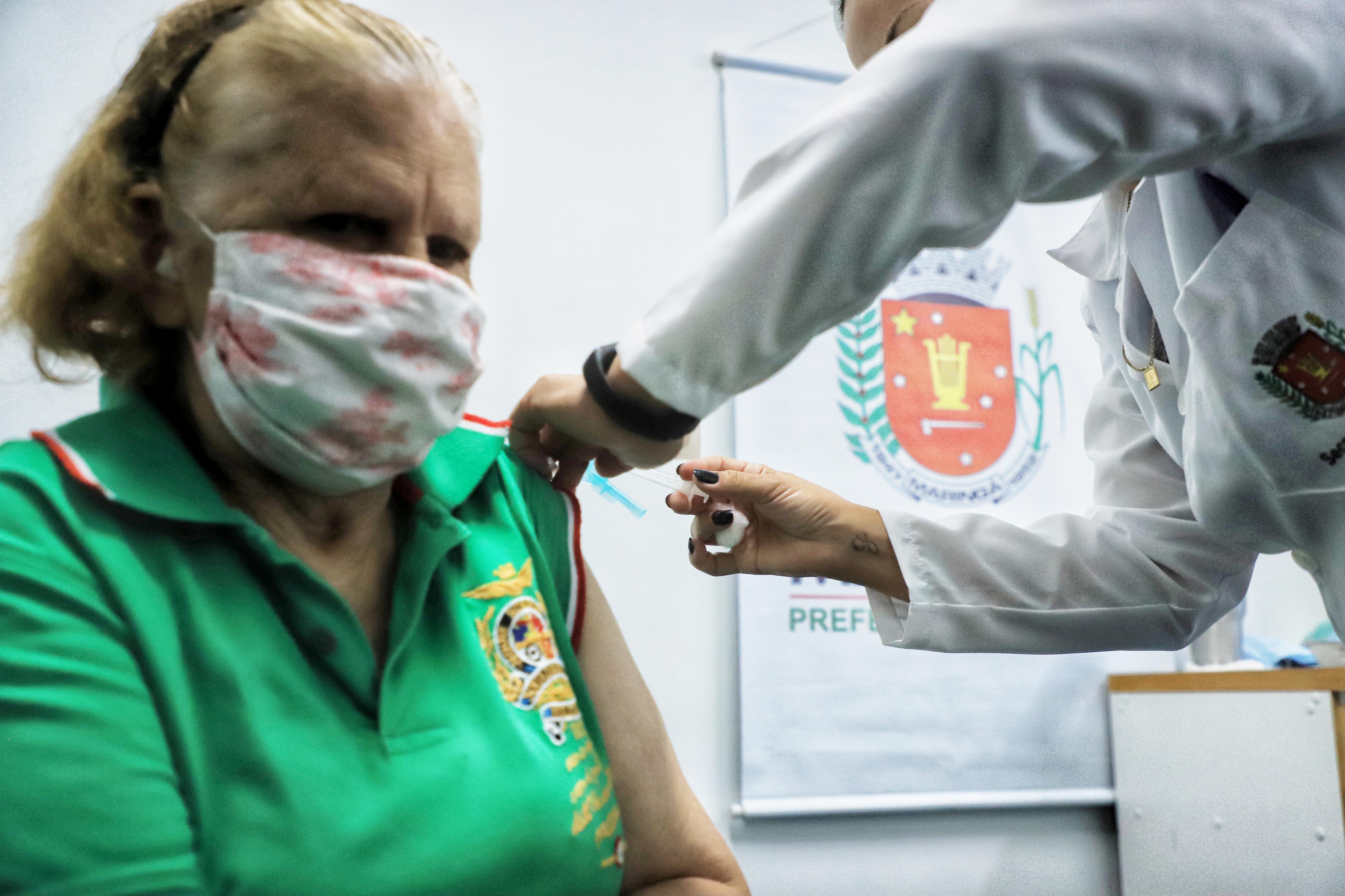 O vacinômetro de segunda-feira apontava 1.147.424 doses aplicadas contra a Covid-19 no Estado (Foto: Jose Fernando Ogura/AEN)