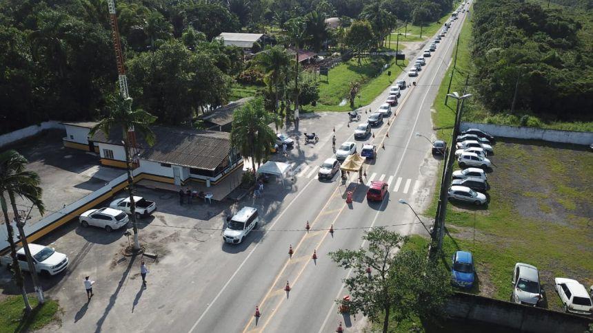 Pontal do Paraná reimplanta barreira sanitária a partir de sexta-feira