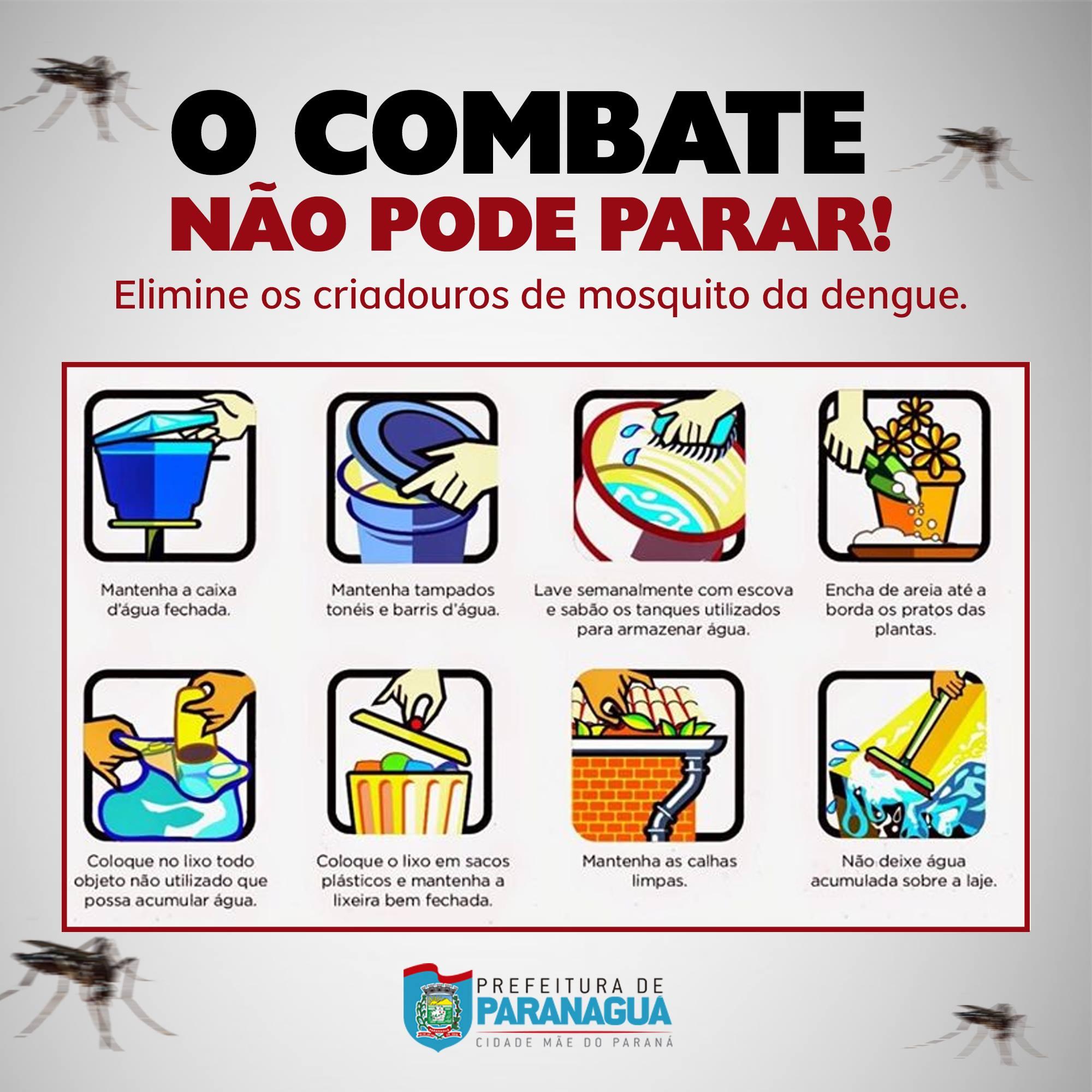 o combate a dengue não pode parar