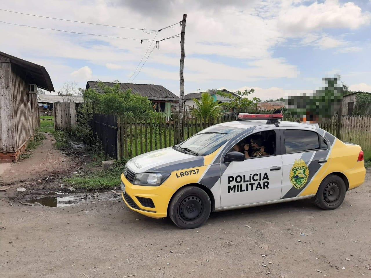 O crime aconteceu no final de uma via perpendicular a Rua Maria da Conceição Teixeira de Souza.
