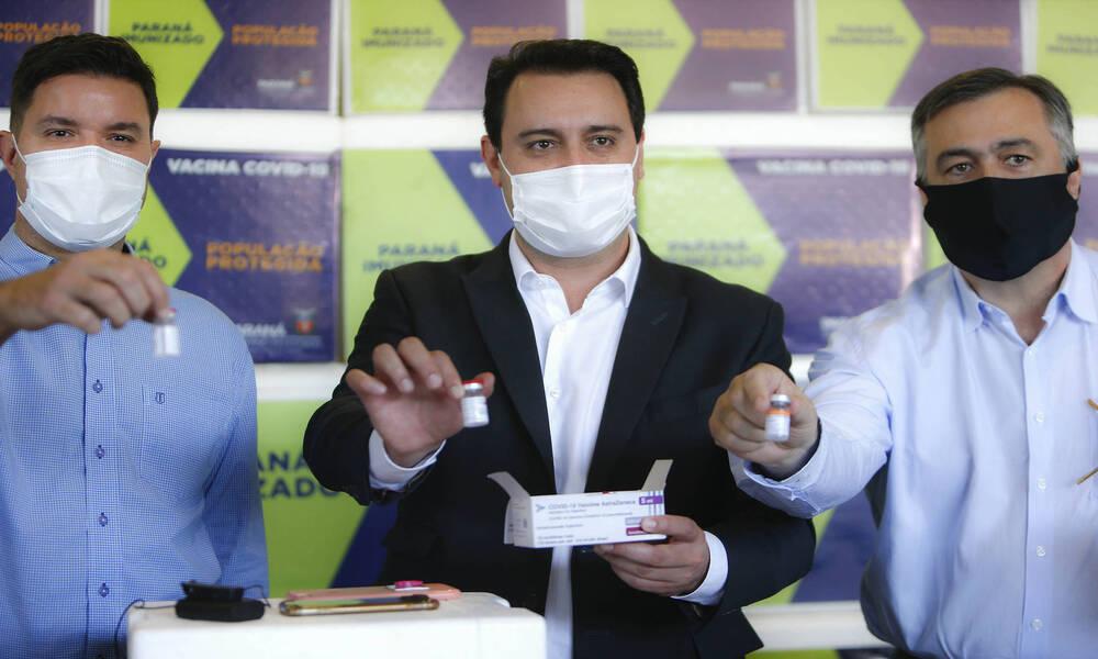 Governador Ratinho Júnior lança campanha para vacinação de domingo a domingo