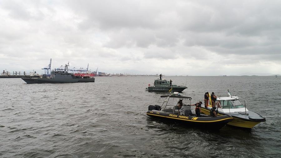 """Comando do 8.º Distrito Naval realiza Operação """"Ágata"""" na Fronteira Fluvial e litoral"""