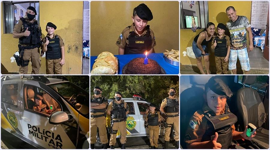 Apaixonado pela Polícia Militar
