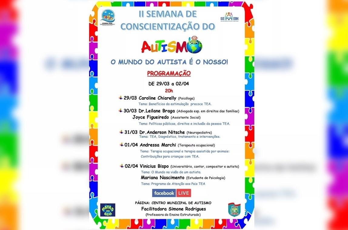 II Semana de Conscientização sobre o autismo – Paranaguá
