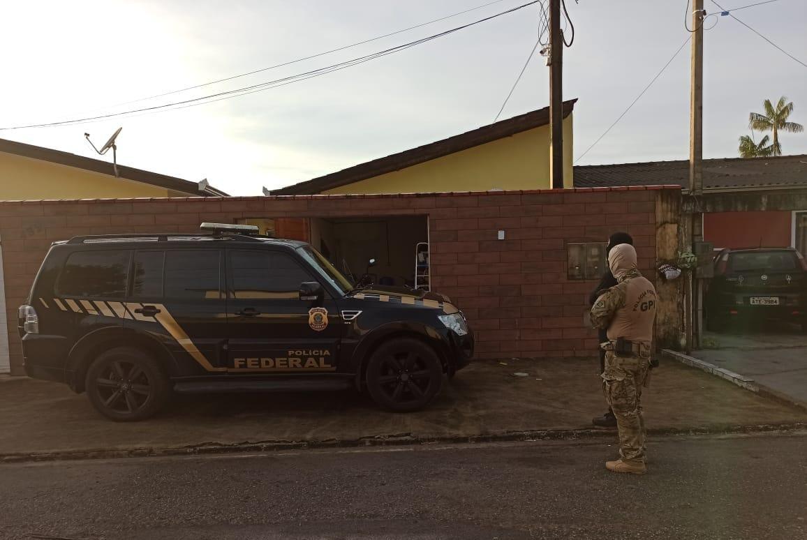 Polícia Federal prende mais um foragido da Operação Enterprise em Paranaguá