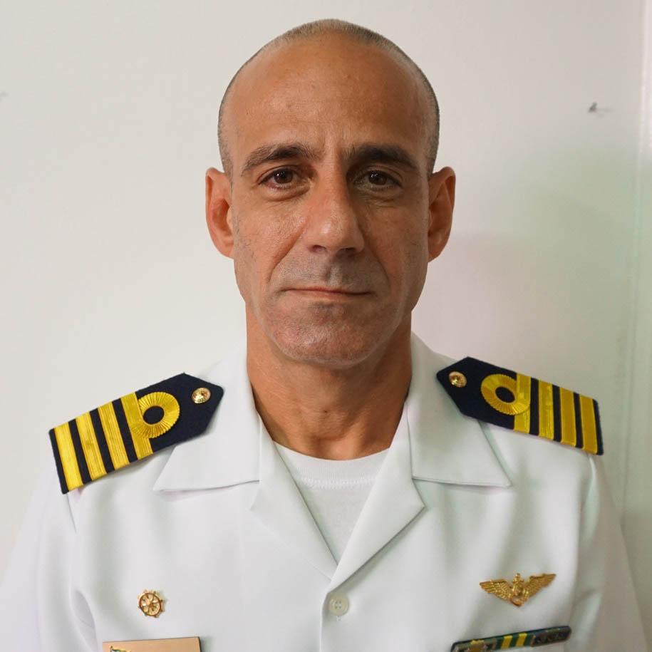 Capitão de Mar e Guerra André Luiz Morais de Vasconcelos