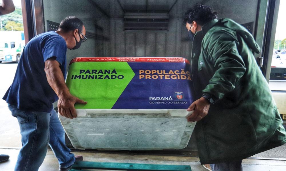Litoral do Paraná recebe mais 9 mil doses da vacina contra a Covid-19