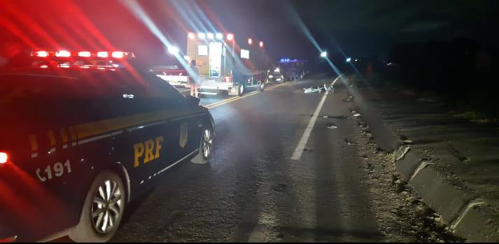 Ciclista morre atropelado na BR-277 em Paranaguá