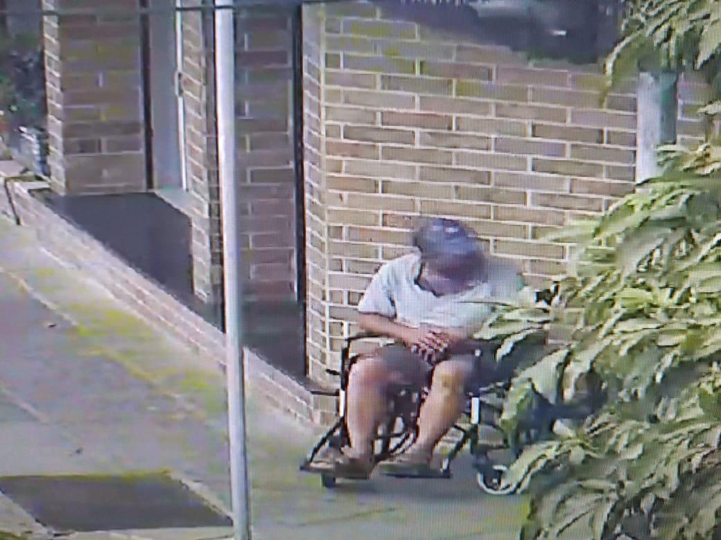 Falso cadeirante é detido