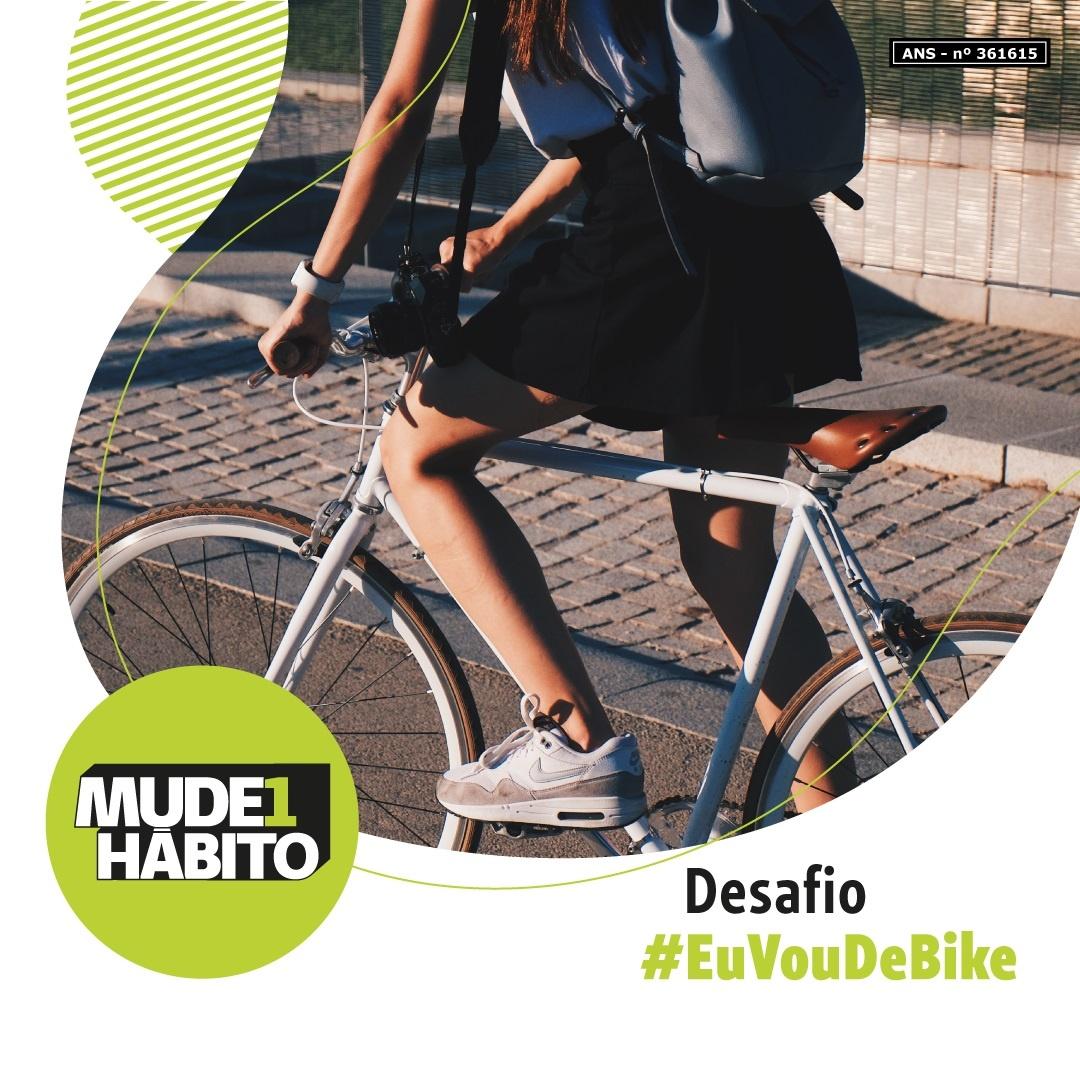 Desafio Mude1Hábito Unimed Paranaguá - #EuVouDeBike