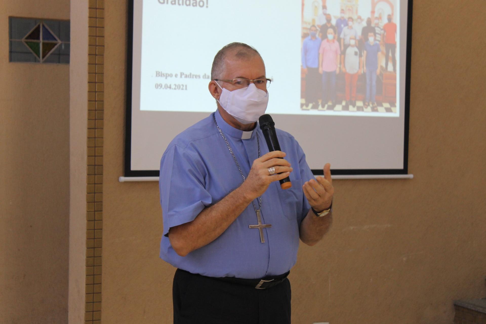 Bispo Dom Edmar Peron salientou importância do diálogo com o município e demandas encaminhadas