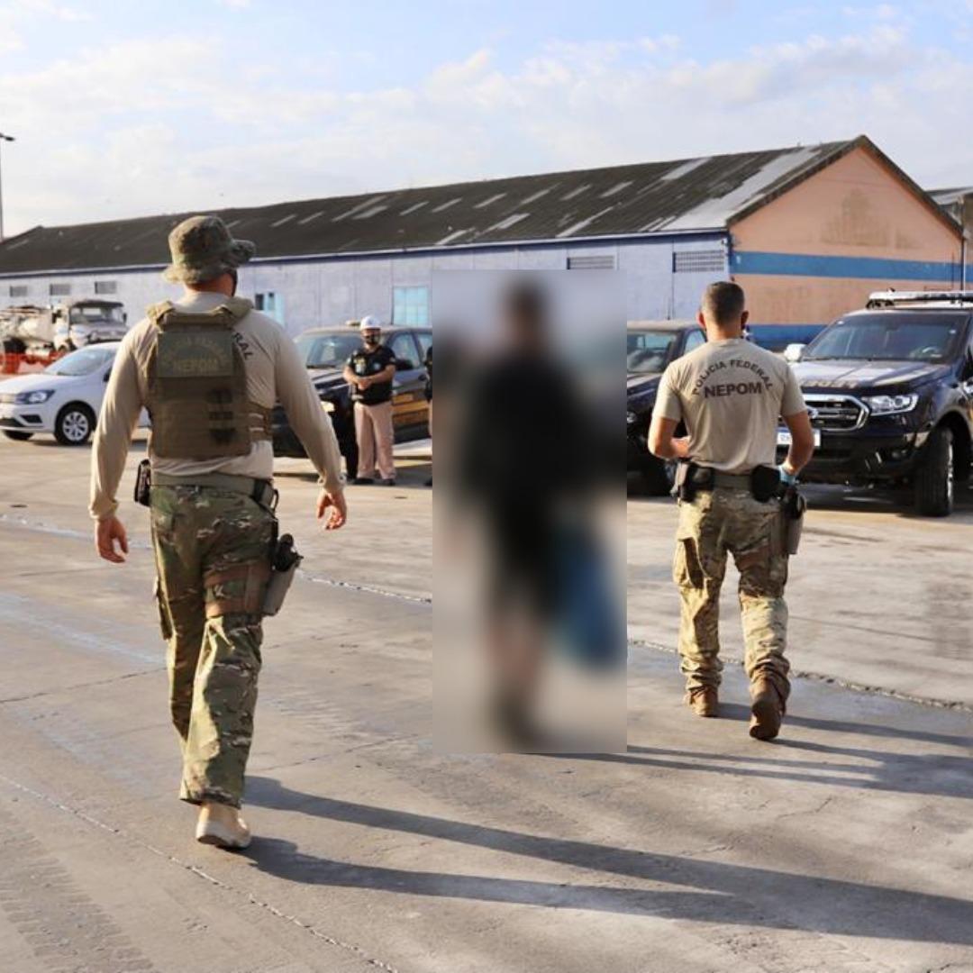 Polícia Federal detém entrada de passageiro clandestino pelo Porto de Paranaguá