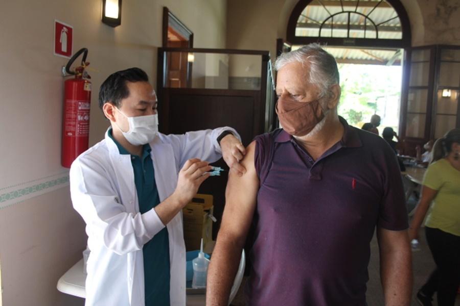 Marcos Antonio Fangueiro, 65 anos, engenheiro, falou da esperança com a vacina