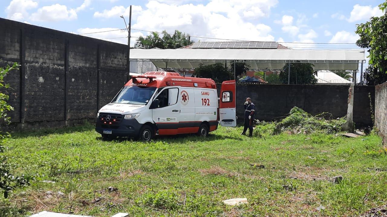 Agredida com pedradas na cabeça, Silvia Garcia de Souza, de 42 anos, morreu na emergência do Hospital Regional